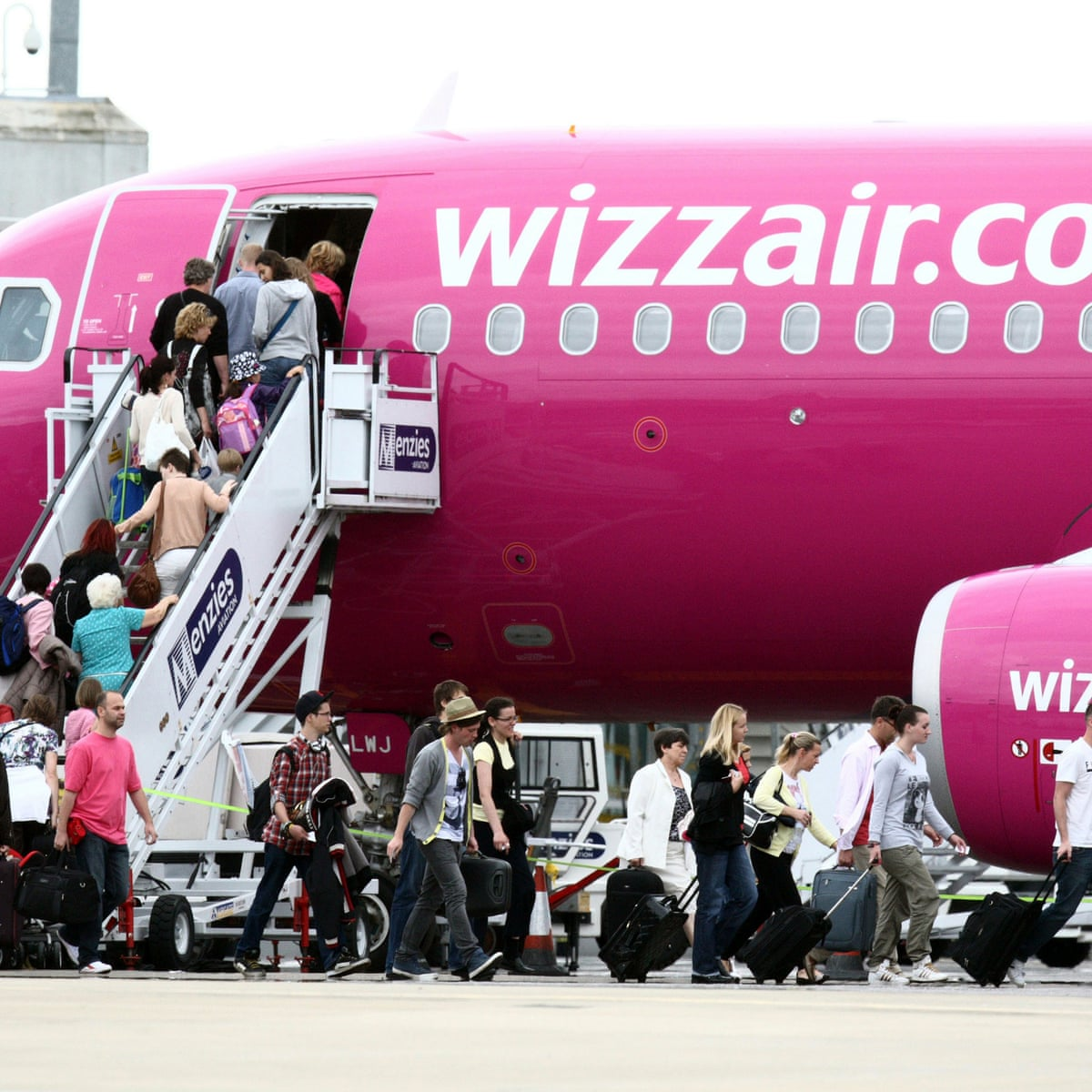 Wizz Air Announces Plans To Resume Flights To Portugal And Greece Business The Guardian