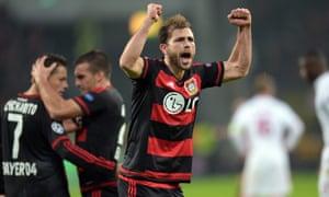 Bayer Leverkusen's Admir Mehmedi