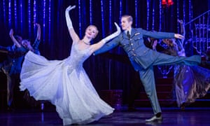 Ashley Shaw as Cinderella and Andrew Monaghan as Harry in Matthew Bourne's Cinderella.