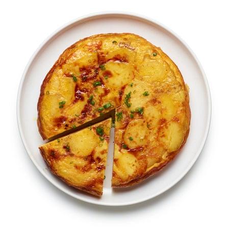 Felicity Cloake's Spanish omelette.