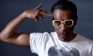 Director Qaushiq Mukherjee from the film Brahman Naman in Park City, Utah.