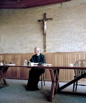 Father Leo, Downside Abbey