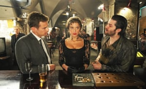 Theo James, Amber Heard and Jim Sturgess in London Fields.