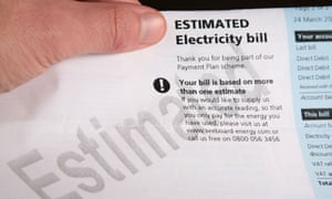 Beware too many estimated bills … they could extend a large loan to the energy company or land you with an underpayment.