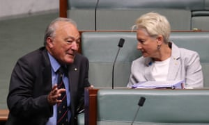Dr Michael Freelander, here with Dr Kerryn Phelps