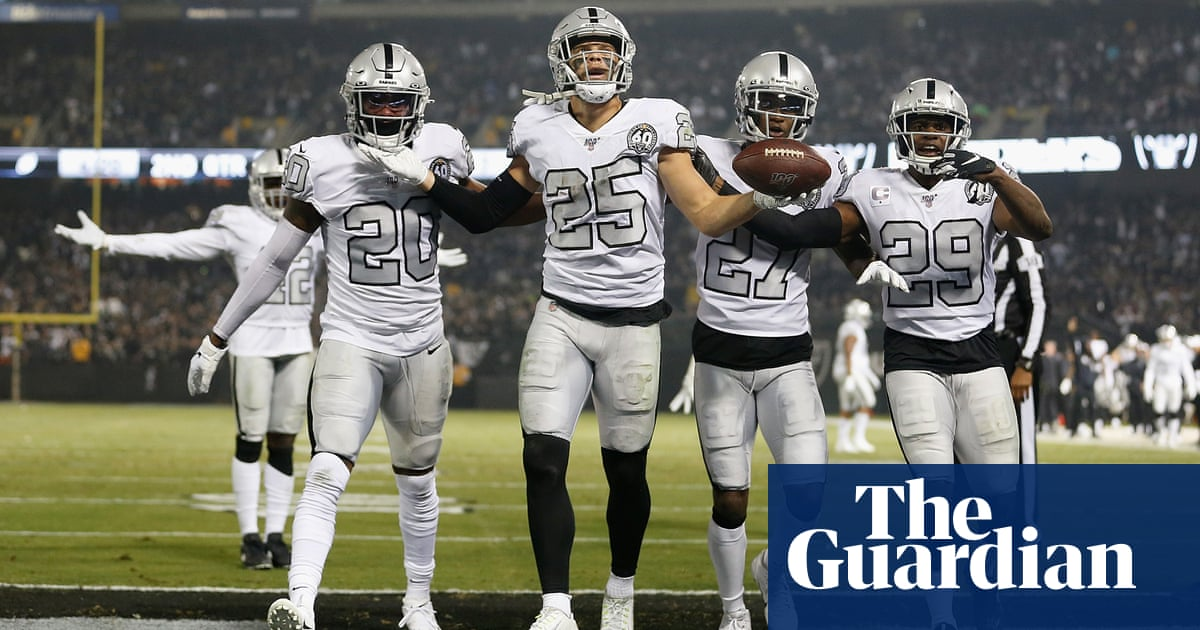 Oakland Raiders edge LA Chargers for second thrilling win in five days