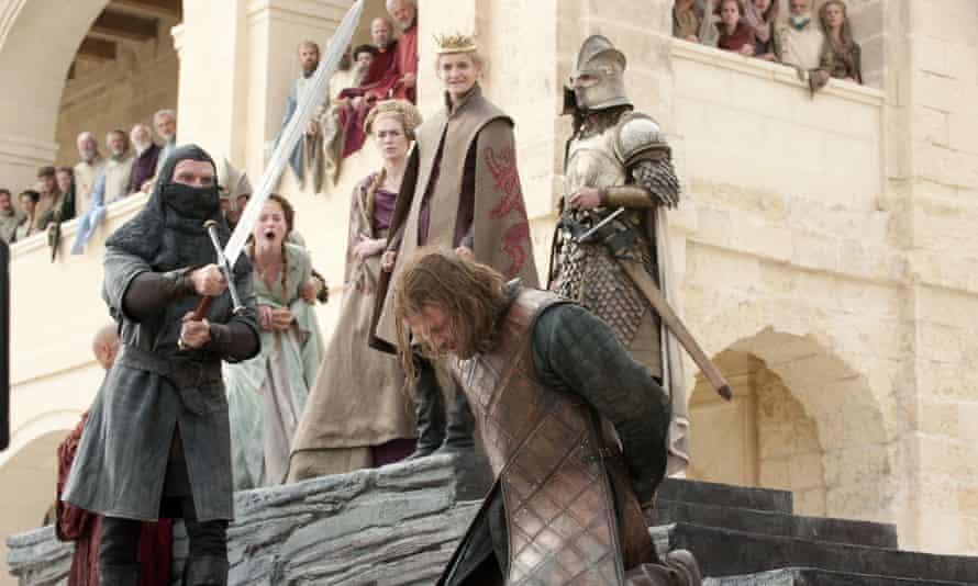 Ned Stark execution scene