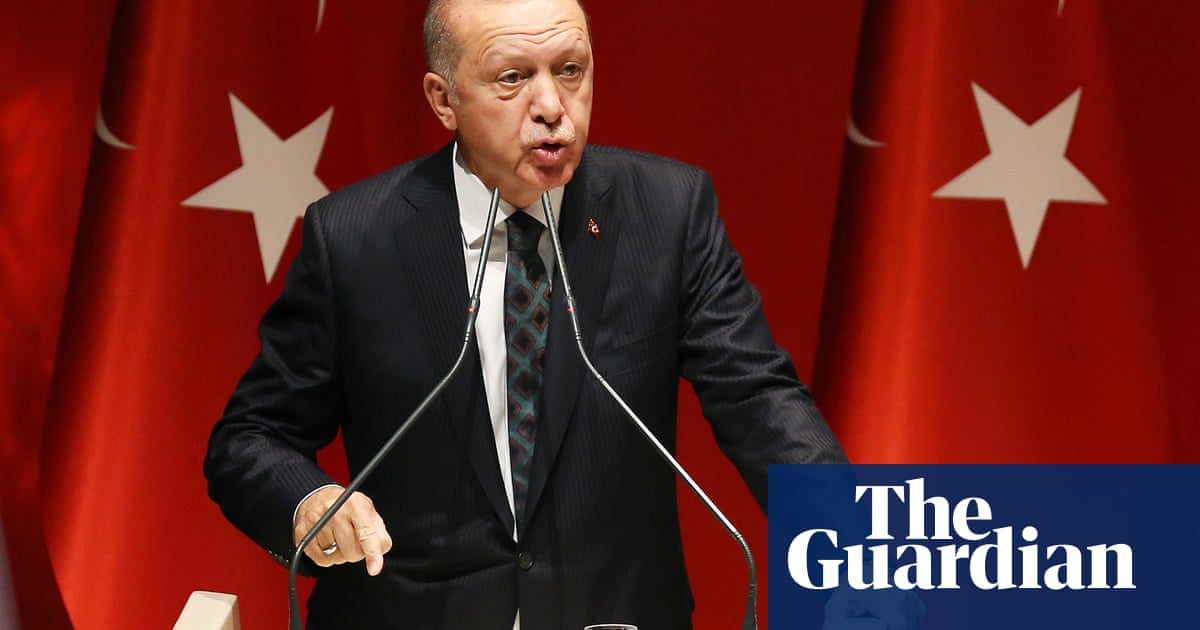 Turkish president threatens to send 3.6m refugees to Europe