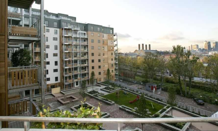 Seren Gardens, which won an Evening Standard award for best large-scale mixed tenure development.