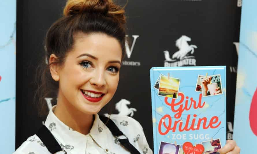 Zoella's YouTube audience continues to grow