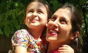 Nazanin Zaghari-Ratcliffe, pictured with daughter Gabriella