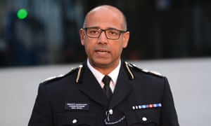 Neil Basu: 'All the work we've done over the last 20 years to put neighbourhood policing back on the map is in danger of disappearing.'