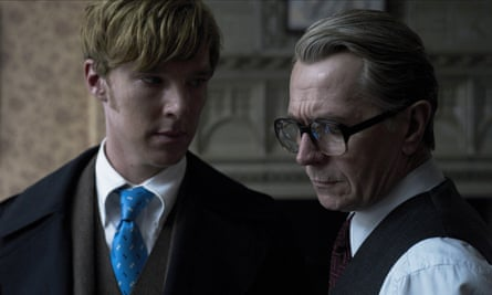 Gary Oldman and Benedict Cumberbatch