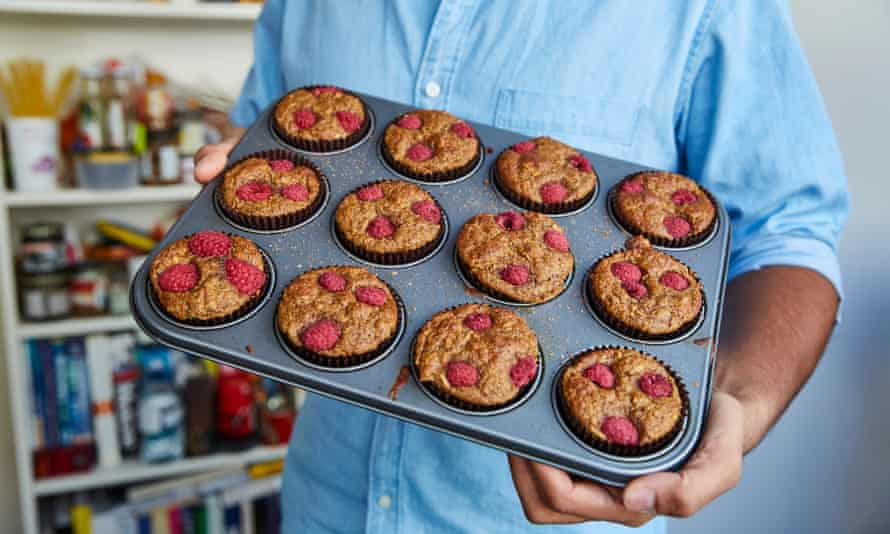 Tamal Ray's apple and orange wholemeal muffins