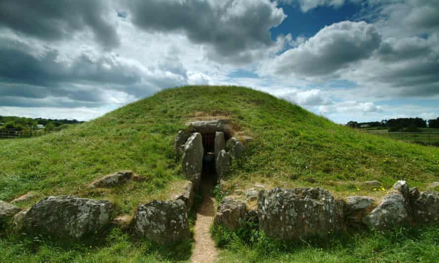 Bryn Celli Ddu, a Neolithic passage tomb on Anglesey.