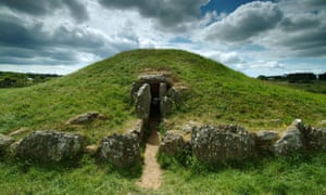 Bryn Celli Ddu, a Neolithic passage tomb on the Isle of Anglesey.