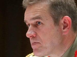 Major-General Andrew Bottrel, the commander of the joint agency taskforce