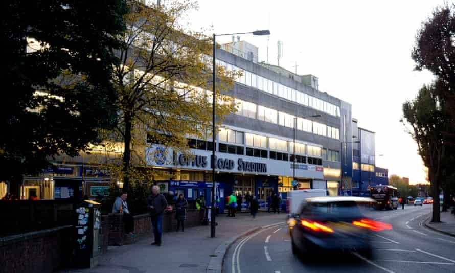 Loftus Road Stadium, the home of QPR FC.