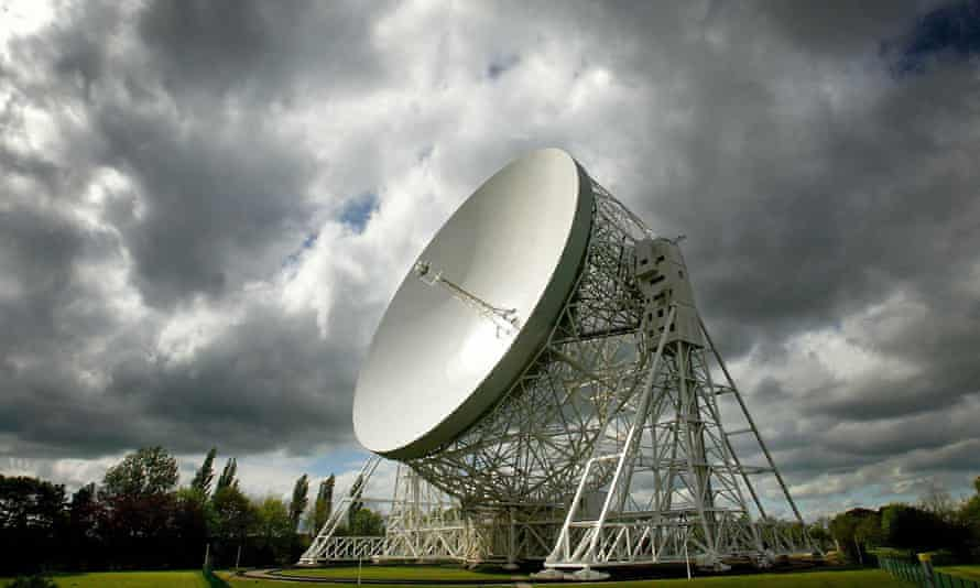 The Lovell telescope at Jodrell Bank Observatory in Macclesfield, Cheshire