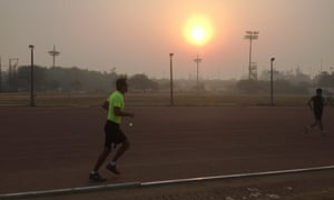 A dawn run is perfect for tackling obesity, diabetes and other diseases that are on the rise in India.