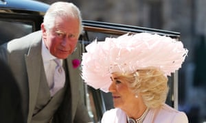 The wedding of Prince Harry and Meghan Markle, Pre-Ceremony, Windsor, Berkshire, UK - 19 May 2018<br>Mandatory Credit: Photo by REX/Shutterstock (9685437fb) Prince Charles and Camilla Duchess of Cornwall The wedding of Prince Harry and Meghan Markle, Pre-Ceremony, Windsor, Berkshire, UK - 19 May 2018