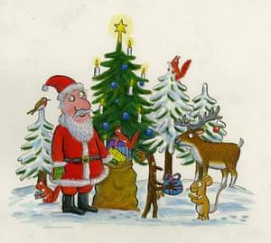 Guardian Christmas card by Axel Scheffler.