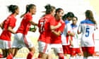 Benfica women set Portuguese record with 28-0 win over Ponte de Frielas – video