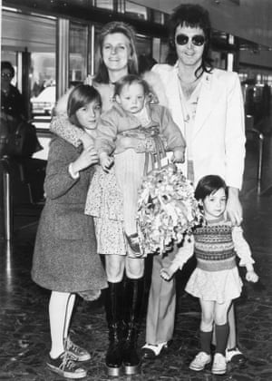 We all live in a yellow submarine: baby Stella and the McCartney family, 1974.