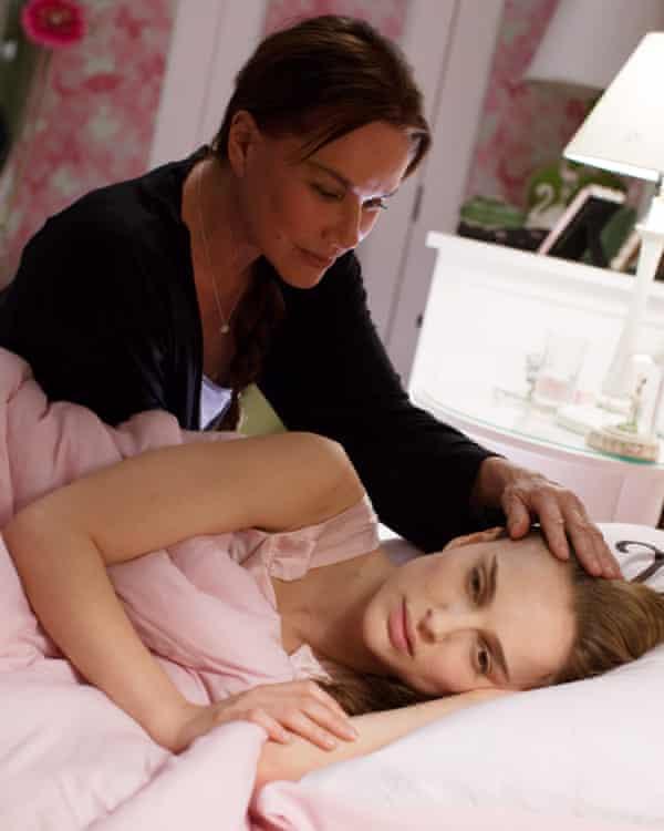 With Natalie Portman in Black Swan.