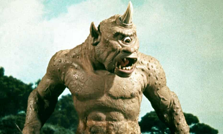 Weren't you in The Odyssey? ... the cyclops in The 7th Voyage of Sinbad, which features in Titan of Cinema.