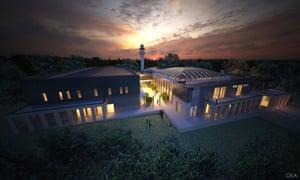 Artist impression of the Bendigo mosque