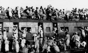 Muslim refugees India Pakistan 1947