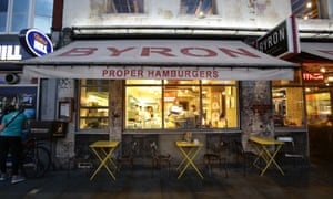 Byron restaurant in Islington, north London