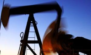 An oil pump in Bahrain