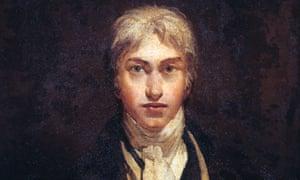 JMW Turner's self-portrait age 24.