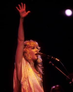 Nicks at Oakland Coliseum, 3 December 1981.