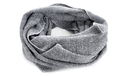 A snood does the job of a scarf but is less bulky