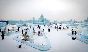 Heilongjiang, China34th Harbin International Ice Sculpture Competition