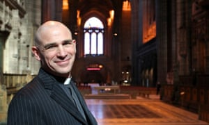 Pete Wilcox, the new bishop of Sheffield.