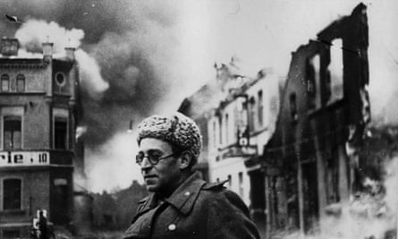 Vasily Grossman with the Red Army in Germany, 1945.