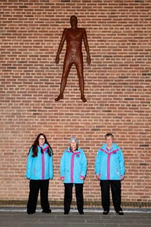 Leanne Ayre, Caron Mincke and Sheila Annis