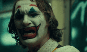 Joaquin Phoenix in Joker … one possible back story of many?