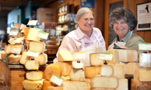 Peggy Smith, left, and Sue Conley of Cowgirl Creamery.