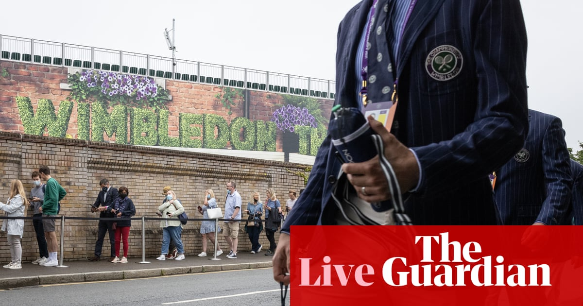 Wimbledon 2021: Barty, Federer and Williams in action on day two – live!