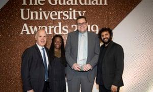 Digital innovation award winner: London School of Economics.
