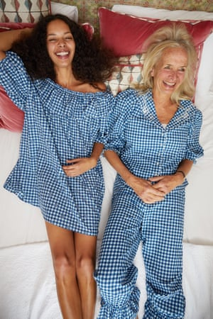 Good nightsThe debut loungewear by Rixo is a limited edition 13-piece collection, free-spirited and luxurious, the traditional PJ sets are cut from signature Vintage Rose and Ibiza Star prints and a nostalgic blue cotton gingham with broderie anglaise detailing. PJ's £150, nightie £125 Rixo.co.uk