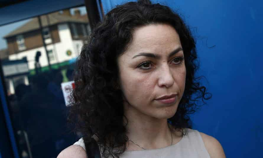 Former Chelsea football club doctor Eva Carneiro at the Croydon employment tribunal.
