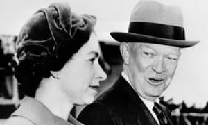 Queen and Eisenhower