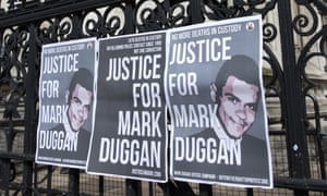 Posters outside the Royal Courts of Justice