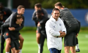 Frank Lampard thinks Chelsea's youngsters will need help from more experienced team-mates during their first away game in the Champions League.